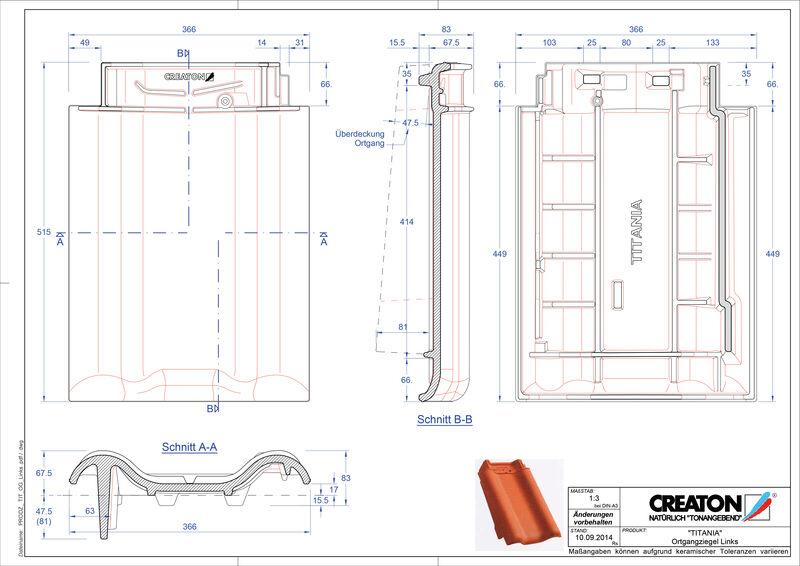 Fiser CAD produs TITANIA laterală stânga OGL