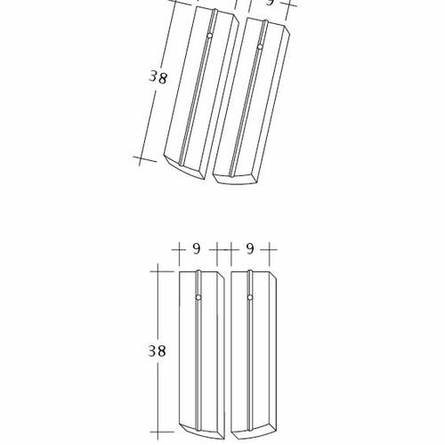 Desen tehnic produs PROFIL Kera-Saechs-18cm-1-2