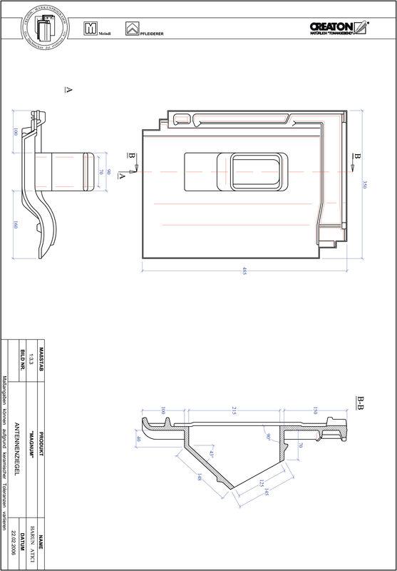 Fiser CAD produs MAGNUM Antenă ANTENNE