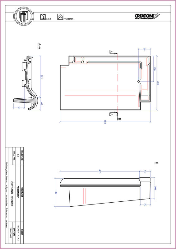 Fiser CAD produs PREMION laterală dreapta OGR