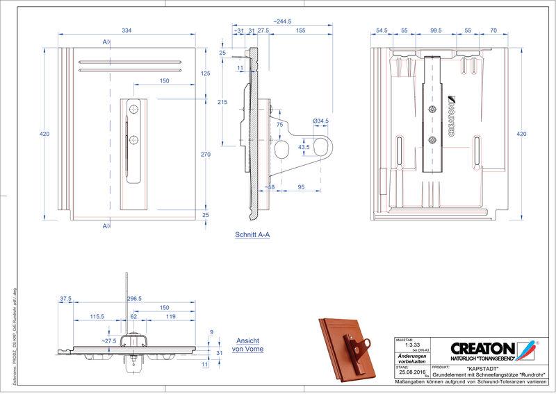 Fiser CAD produs KAPSTADT Element Rundrohr