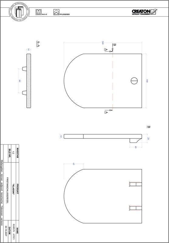 Fiser CAD produs KLASSIK decupaj rotund RUND-FAZ