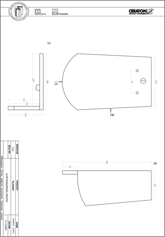 Fiser CAD produs KLASSIK decupaj rotund RUND-OGR-1-1-4