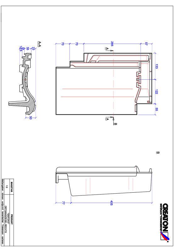 Fiser CAD produs SINFONIE laterală dreapta OGR