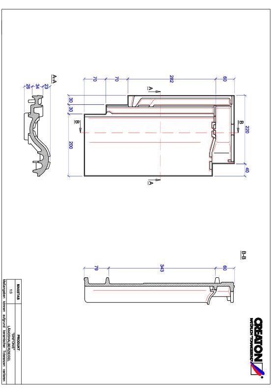 Fiser CAD produs SINFONIE Ţiglă 1/2  LH