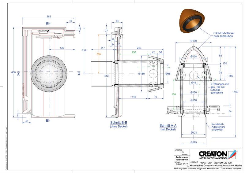 Fisier CAD produs CANTUS Signum 100