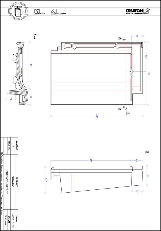 Fiser CAD produs MAGNUM laterală dreapta OGR