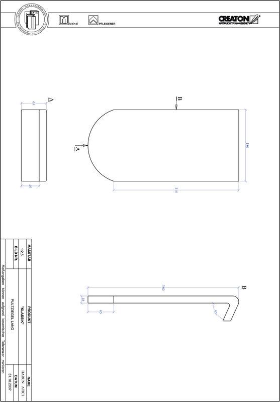 Fiser CAD produs KLASSIK decupaj rotund RUND-PULT-lang1
