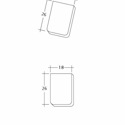 Desen tehnic produs KLASSIK Traufziegel