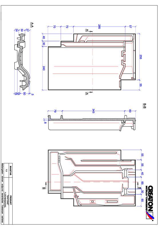 Fiser CAD produs SINFONIE Ţiglă de bază FLA