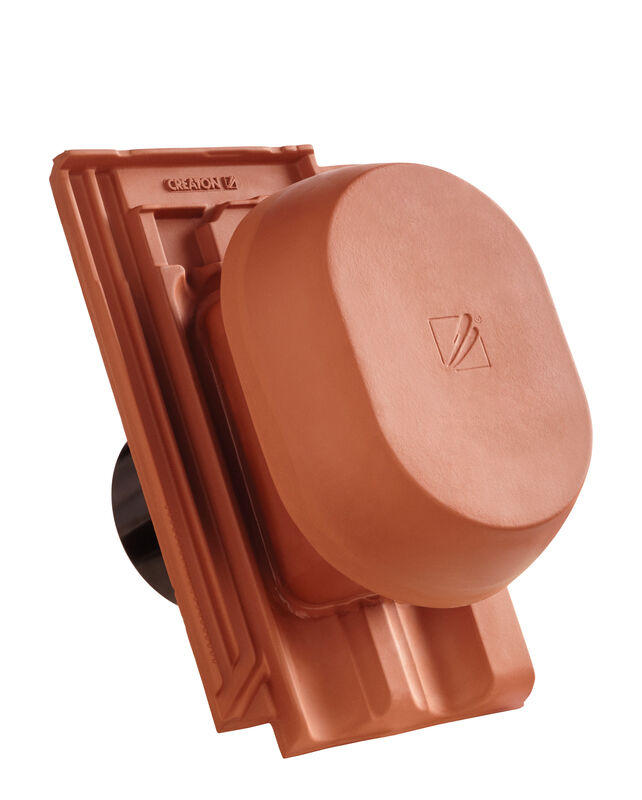 "RATIO Element tub aerisire argila NW 150/160 mm ""SIGNUM"", cu furtun flexibil pentru conexiune"