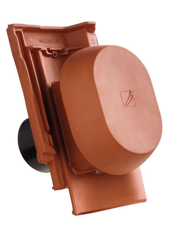"SIN. Element tub aerisire argila NW 150/160 mm ""SIGNUM"", cu furtun flexibil pentru conexiune"