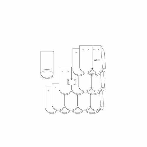 Desen tehnic produs KLASSIK OGAusbildung-Kronendeckung-mit-OG-3-4-1-1-4