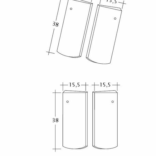 Desen tehnic produs PROFIL Kera-Saechs-15cm-Unterlaeufer