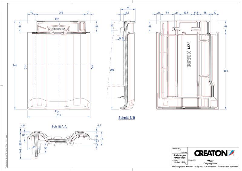 Fiser CAD produs MZ3 laterală stânga OGL
