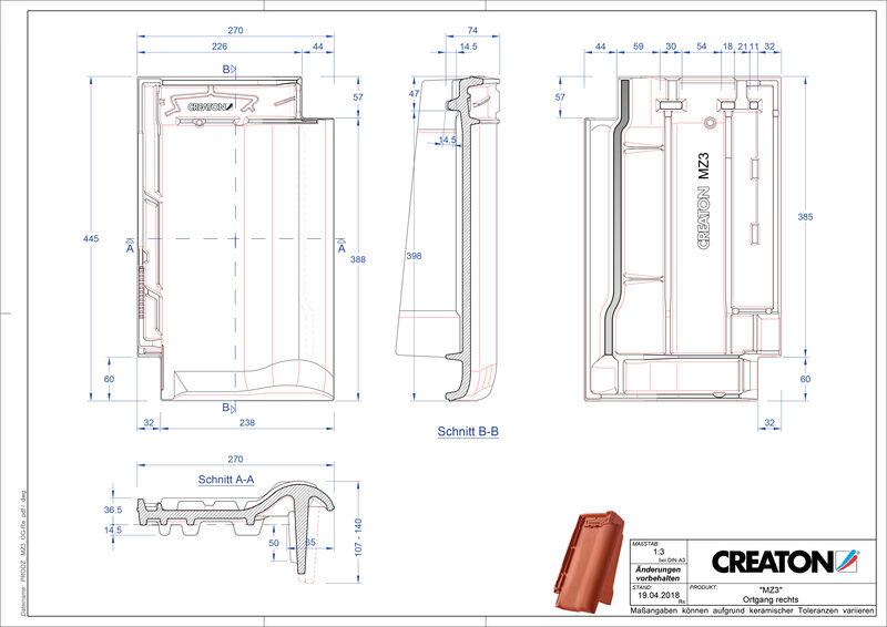 Fiser CAD produs MZ3 laterală dreapta OGR