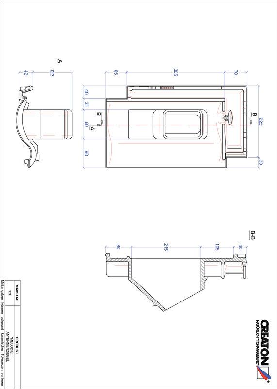 Fiser CAD produs MELODIE Antenă ANTENNE