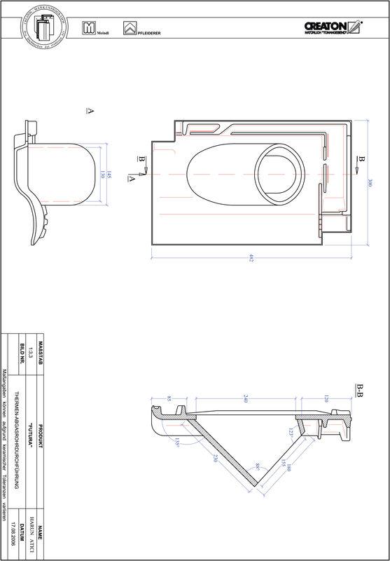 Fiser CAD produs FUTURA Termal THERME