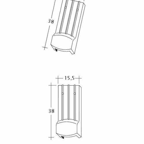 Desen tehnic produs PROFIL Kera-Saechs-15cm-LUEFTZ