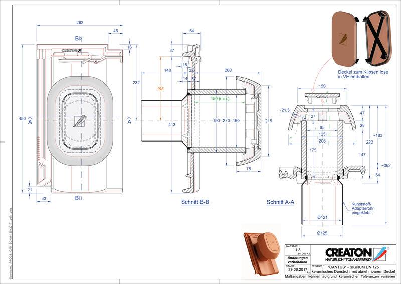 Fisier CAD produs CANTUS Signum 125