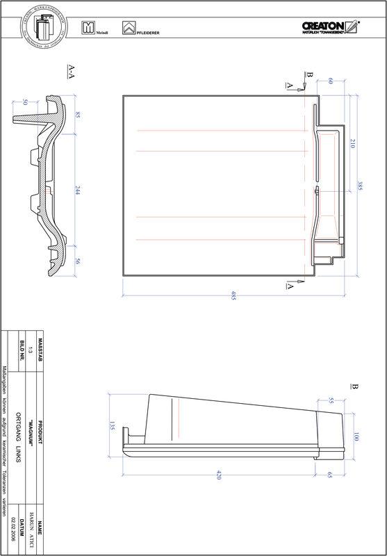 Fiser CAD produs MAGNUM laterală stânga OGL