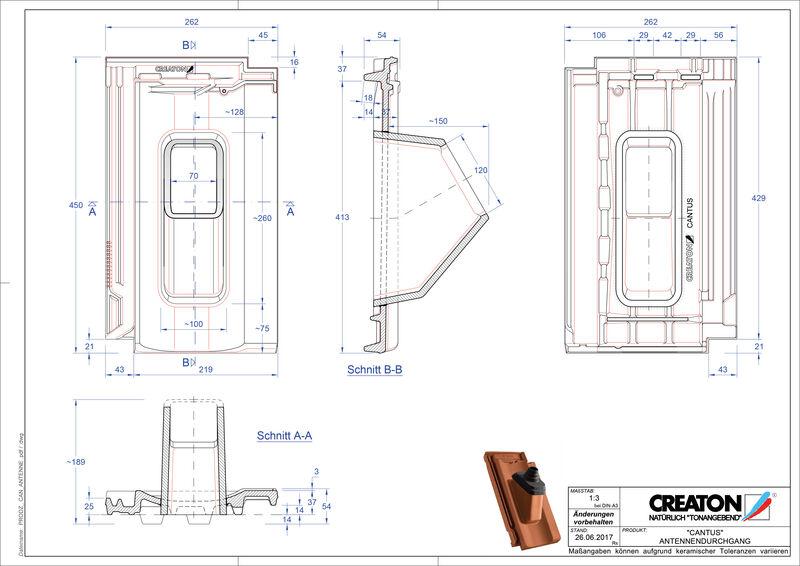 Fisier CAD produs CANTUS Antenă ANTENNE