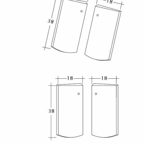 Desen tehnic produs PROFIL Kera-Saechs-18cm-Unterlaeufer