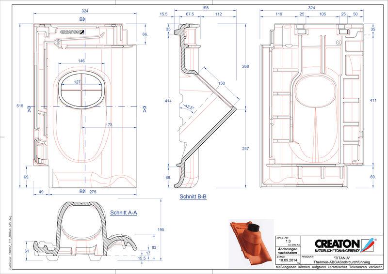 Fiser CAD produs TITANIA Termal THERME