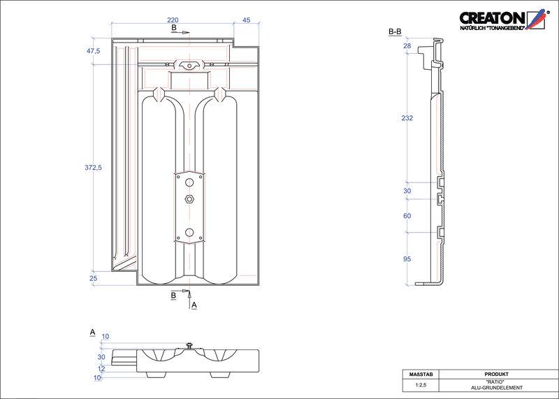 Fiser CAD produs RATIO Element aluminiu  GRUNDALU