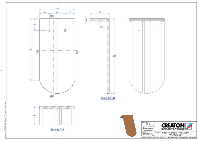 Fiser CAD produs KLASSIK decupaj rotund RUND-PULT-lang