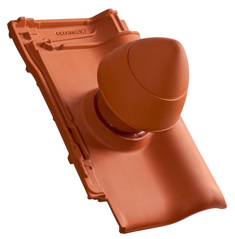 """TIT Element tub aerisire argila NW 100 """"SIGNUM"""" Tip A cu furtun flexibil pentru conexiune incl. Adaptor """"SIGNUM"""""""