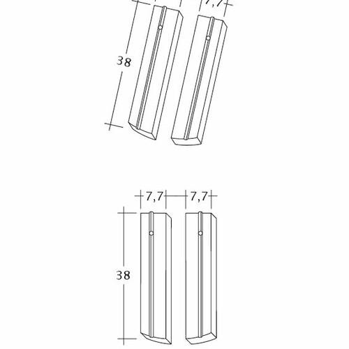 Desen tehnic produs PROFIL Kera-Saechs-15cm-1-2