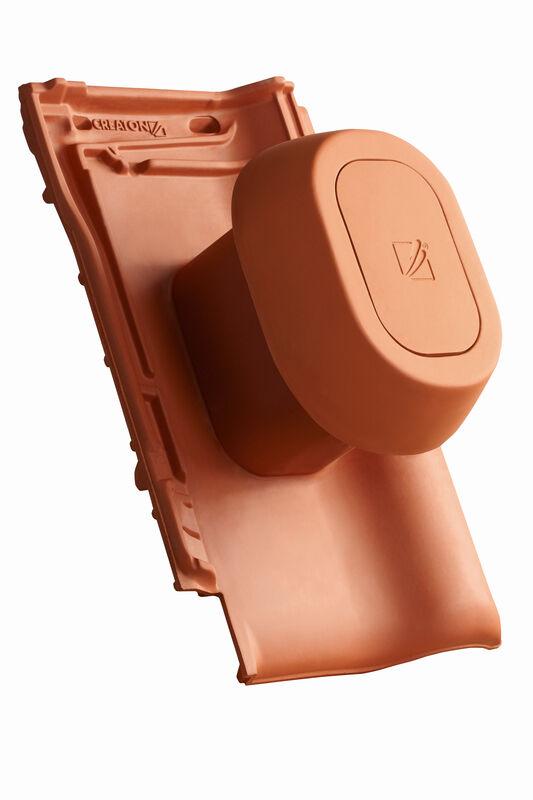"""TIT Element tub aerisire argila NW 125 """"SIGNUM"""" Tip F cu furtun flexibil pentru conexiune incl. Adaptor """"SIGNUM"""""""