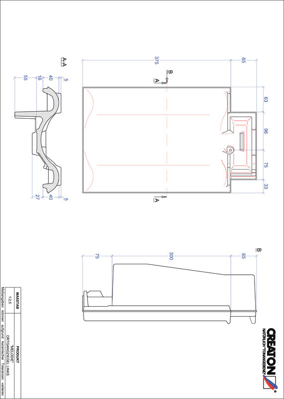 Fiser CAD produs MELODIE laterală stânga OGL