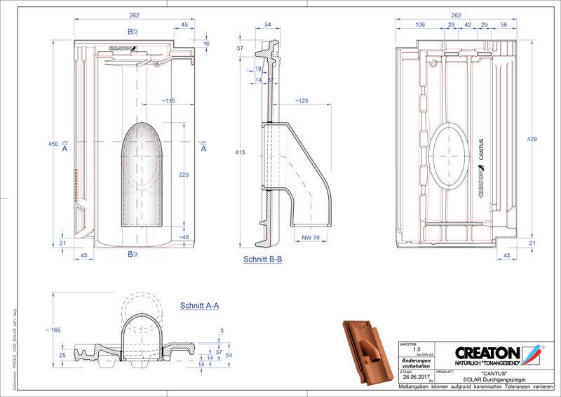 Fisier CAD produs CANTUS Solar SOLAR