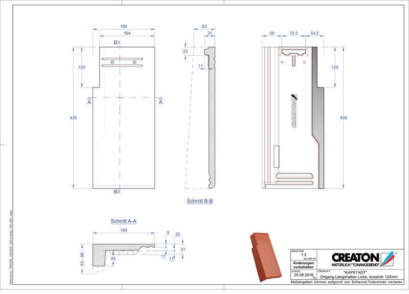 Fiser CAD produs KAPSTADT laterală stânga OGL-halb-120