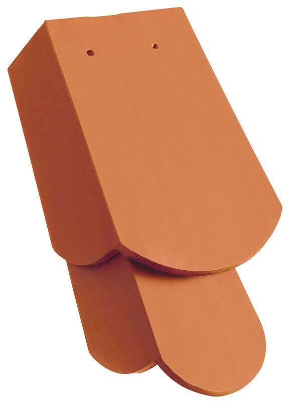 KLASSIK Ţiglă laterală  1 1/4 dreapta cu părţi laterale lungi aprox. 11, cm  decupaj rotund