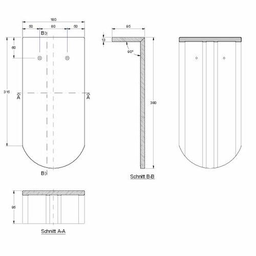 Desen tehnic produs KLASSIK PULT-lang