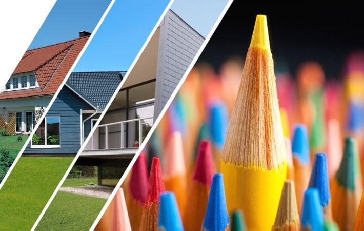 Culori și forme, stiluri și suprafețe nenumărate