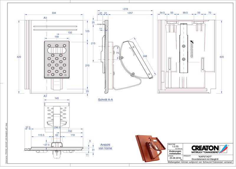 Fiser CAD produs KAPSTADT Element Steigtritt