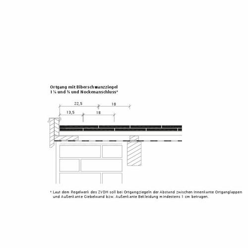 Desen tehnic produs KLASSIK OG-Ausbildung-Biber-3-4-1-4-Nockenanschluss