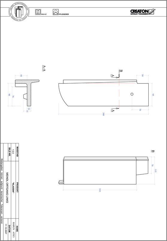 Fiser CAD produs KLASSIK decupaj rotund RUND-OGL