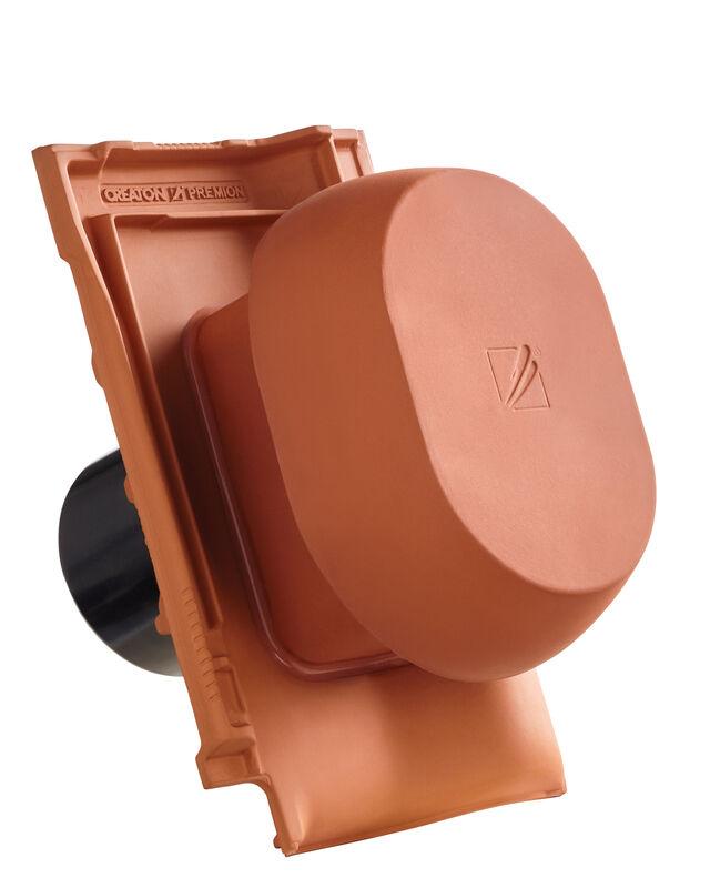"""PRE Element tub aerisire argila NW 150/160 mm """"SIGNUM"""", cu furtun flexibil pentru conexiune"""