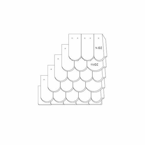 Desen tehnic produs KLASSIK OGAusbildung-Doppeldeckung-mit-OG-3-4-1-1-4-Traufziegel