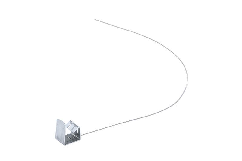 Clemă fixare pentru ţiglă debitată (inox) 13-17 mm