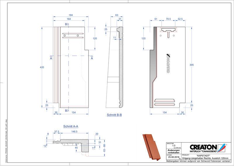 Fiser CAD produs KAPSTADT laterală dreapta OGR-halb-120