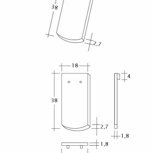 Desen tehnic produs SAKRAL Seg-1-1