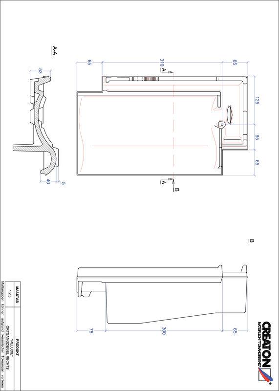 Fiser CAD produs MELODIE laterală dreapta OGR